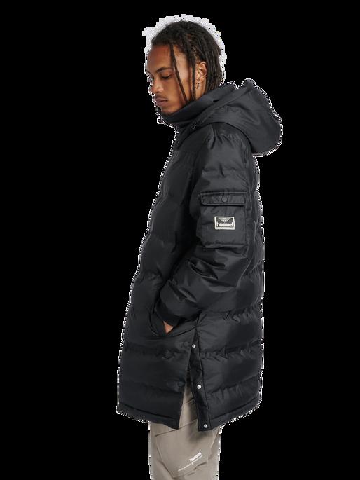 hmlCOLUMBO JACKET, BLACK, model
