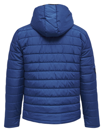 hmlNORTH QUILTED HOOD JACKET, TRUE BLUE, packshot