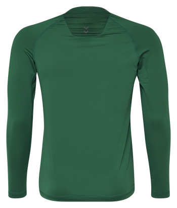 HUMMEL FIRST PERFORMANCE JERSEY L/S, EVERGREEN, packshot