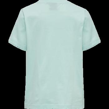 hmlUNI T-SHIRT S/S, BLUE TINT, packshot