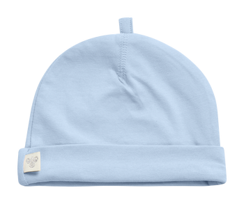 HMLBABY BEE HAT, BLUE FOG, packshot