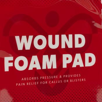 WOUND FOAM PAD 1 PIECE, WHITE, packshot