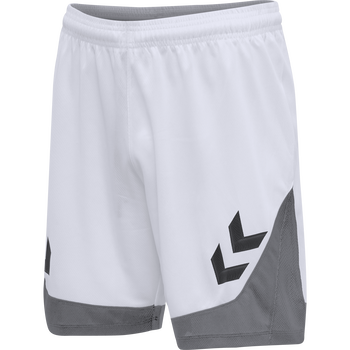 hmlLEAD POLY SHORTS, WHITE, packshot