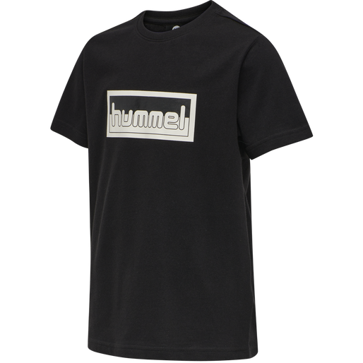 hmlMONO T-SHIRT S/S, BLACK, packshot