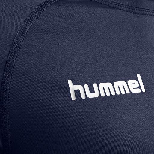HUMMEL FIRST PERFORMANCE KIDS JERSEY L/S, MARINE, packshot