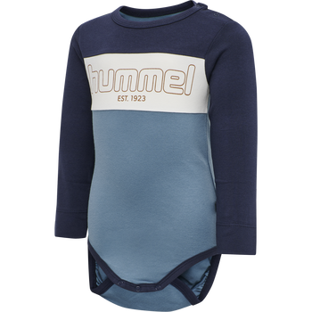 hmlNORTH BODY L/S, PROVINCIAL BLUE, packshot