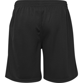 CORE POLY COACH SHORTS, BLACK, packshot