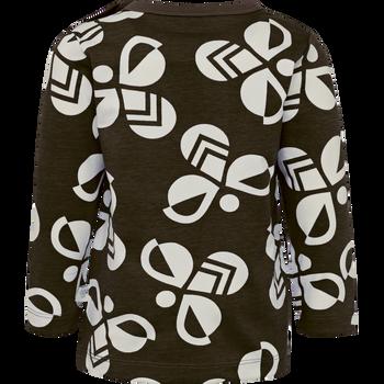 hmlCHARLIE T-SHIRT L/S, JAVA, packshot