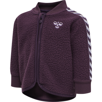 hmlJAMIE ZIP JACKET, BLACKBERRY WINE, packshot