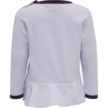 hmlPERLE T-SHIRT L/S, PURPLE HEATHER, packshot