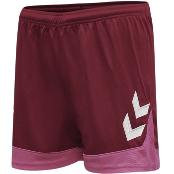 hmlLEAD WOMENS POLY SHORTS, BIKING RED, packshot