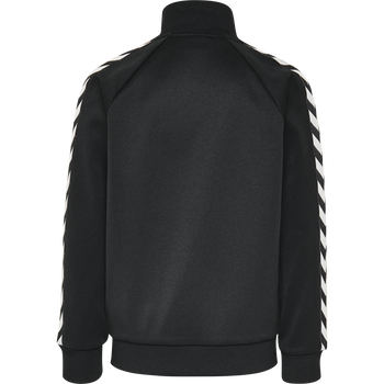 HMLKICK ZIP JACKET, BLACK, packshot