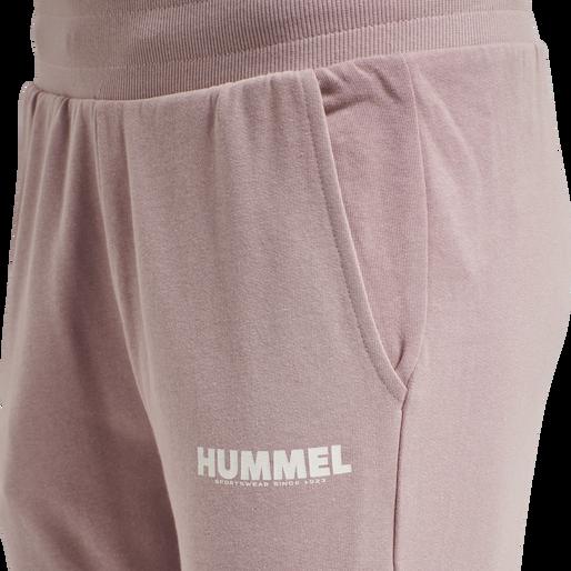 hmlLEGACY WOMAN TAPERED PANTS, WOODROSE, packshot
