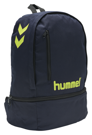 hmlACTION BACK PACK, MARINE/SAFETY YELLOW, packshot
