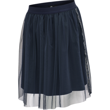 hmlLISA SKIRT, BLACK IRIS, packshot