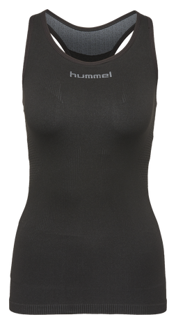 HUMMEL FIRST COMFORT W TANKTOP, BLACK, packshot