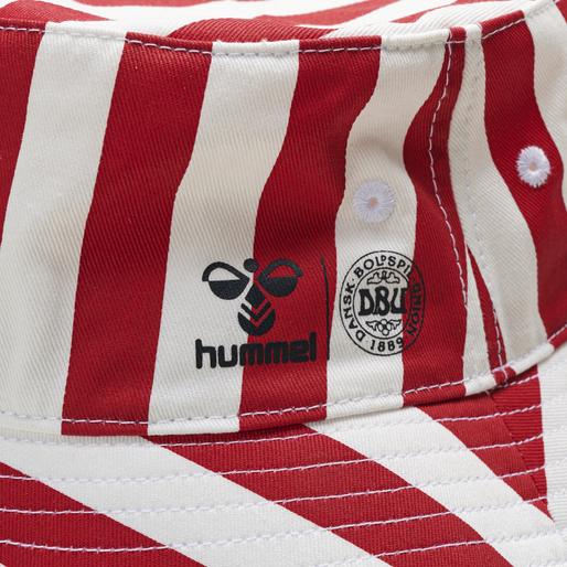 DBU FAN 2020 BUCKET HAT, TANGO RED/WHITE, packshot
