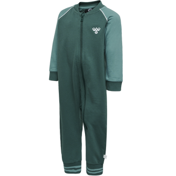 hmlMARLIN JUMPSUIT, MALLARD GREEN, packshot