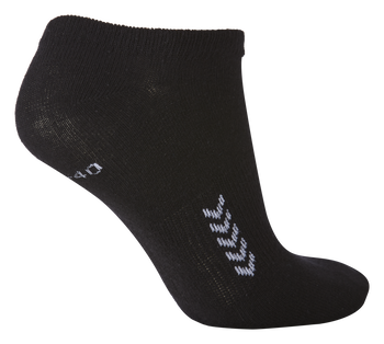 ANKLE SOCK SMU, BLACK/WHITE, packshot