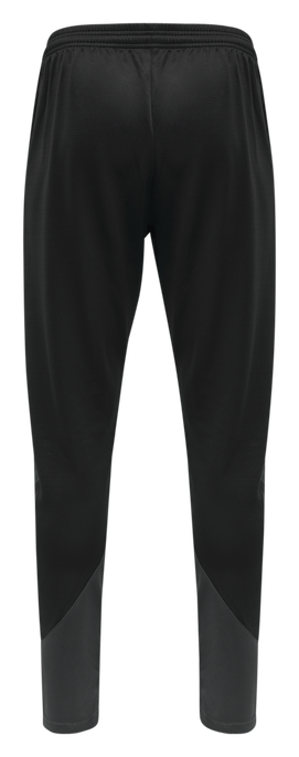 hmlACTION TRAINING PANTS KIDS, BLACK/ASPHALT, packshot