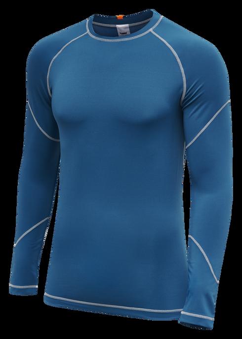 hmlINVENTUS L/S BASELAYER JERSEY, BLUE SAPPHIRE, packshot