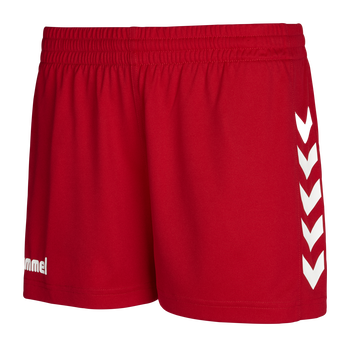 CORE WOMENS SHORTS, TRUE RED PR, packshot