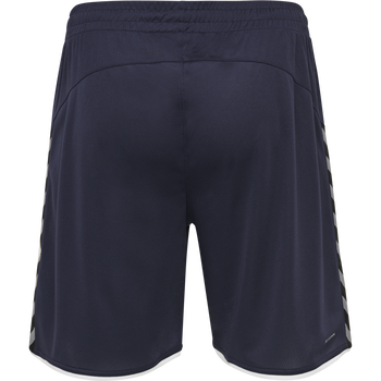 hmlAUTHENTIC KIDS POLY SHORTS, MARINE, packshot