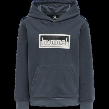 hmlMONO HOODIE, OMBRE BLUE , packshot