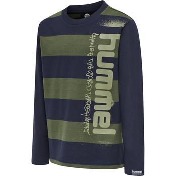 hmlBENNI T-SHIRT L/S, THYME, packshot