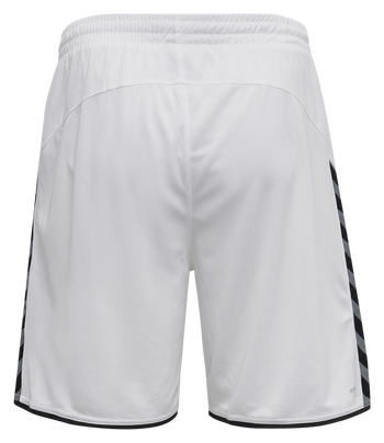 hmlAUTHENTIC POLY SHORTS, WHITE, packshot