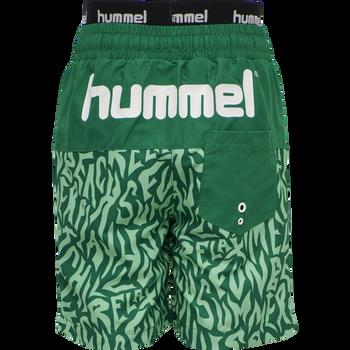 hmlGARNER BOARD SHORTS, ULTRAMARINE GREEN, packshot
