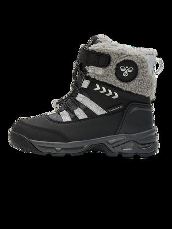 SNOW BOOT TEX JR, BLACK/SILVER, packshot