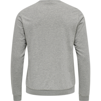 HMLMELAMOUS SWEAT SHIRT, GREY MELANGE, packshot