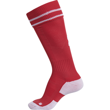 ELEMENT FOOTBALL SOCK , TRUE RED/WHITE, packshot