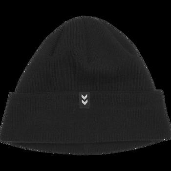 HUMMEL TRAINING HAT, BLACK, packshot