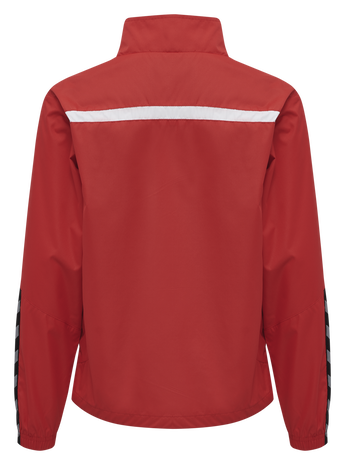hmlAUTHENTIC TRAINING JACKET, TRUE RED, packshot