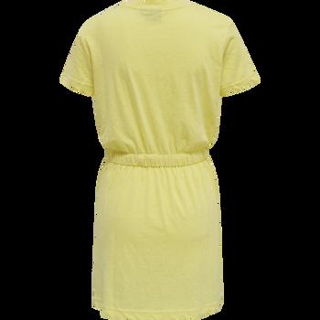 hmlZANDRA DRESS, CELANDINE MELANGE, packshot