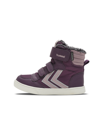 STADIL SUPER POLY BOOT MID JR, BLACKBERRY WINE, packshot