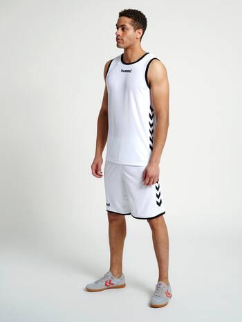 CORE BASKET JERSEY, WHITE, model
