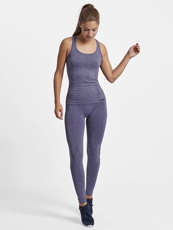 CLASSIC BEE CI SEAMLESS TOP, ASTRAL AURA, model