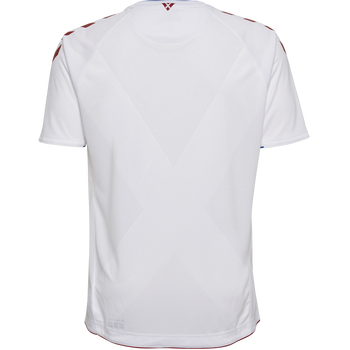 DBU AWAY JERSEY SS 18/19, WHITE, packshot