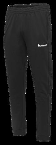 HUMMEL GO COTTON PANT, BLACK, packshot