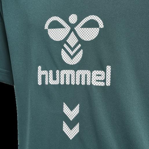 hmlSUPER FOOTBALL SET, MALLARD GREEN, packshot
