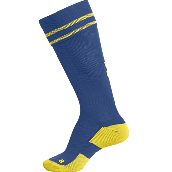 ELEMENT FOOTBALL SOCK , TRUE BLUE/SPORTS YELLOW, packshot