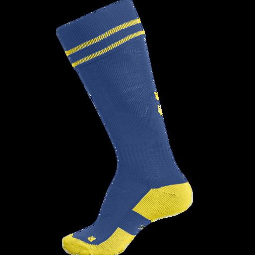 ELEMENT FOOTBALL SOCK , TRUE BLUE/SPORTS YELLOW, packshot