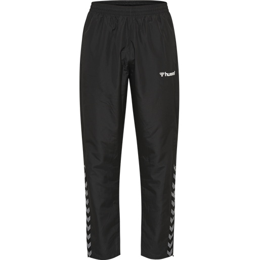 hmlAUTHENTIC KIDS MICRO PANT, BLACK/WHITE, packshot