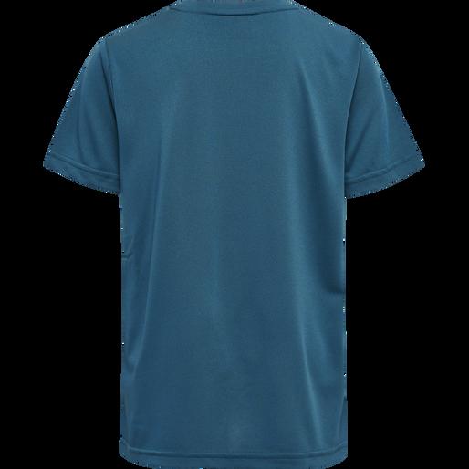 hmlSUPER FOOTBALL SHORTS SET, BLUE CORAL, packshot