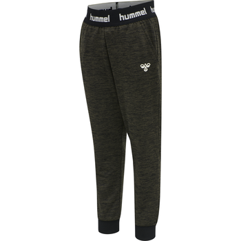 hmlBRANDON PANTS, BLACK OLIVE, packshot