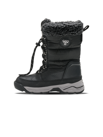 SNOW BOOT HIGH JR, BLACK, packshot