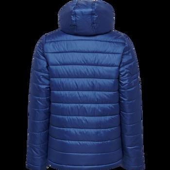 hmlNORTH QUILTED HOOD JACKET KIDS, TRUE BLUE, packshot